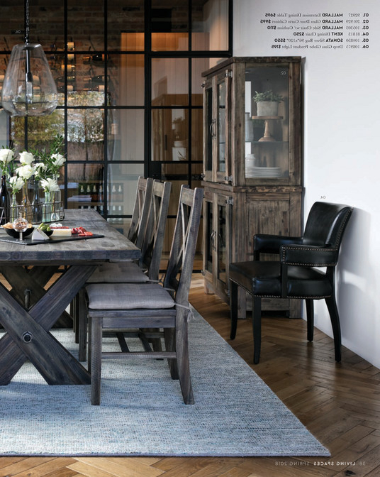 Living Spaces – Spring 2018 – Mallard Extension Dining Table Regarding Most Recent Mallard Extension Dining Tables (View 8 of 20)