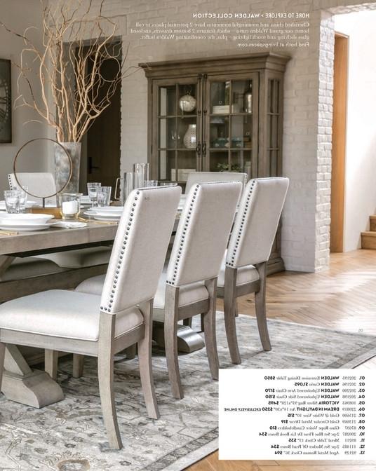 Living Spaces – Spring 2018 – Walden Upholstered Side Chair For Trendy Walden Upholstered Side Chairs (View 7 of 20)
