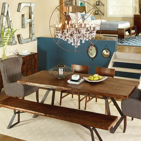 Lofts, Rustic Table And Acacia Wood (View 13 of 20)