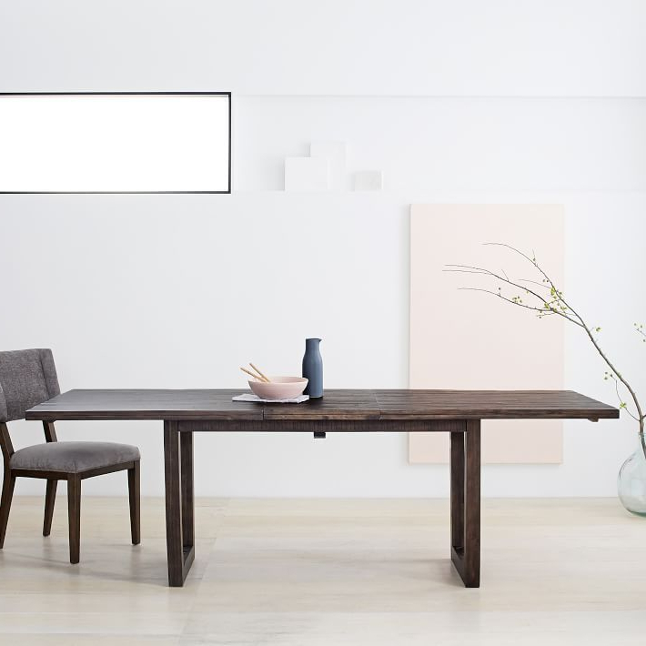 Logan Dining Tables With Regard To Most Recently Released Logan Industrial Expandable Dining Table In (View 20 of 20)