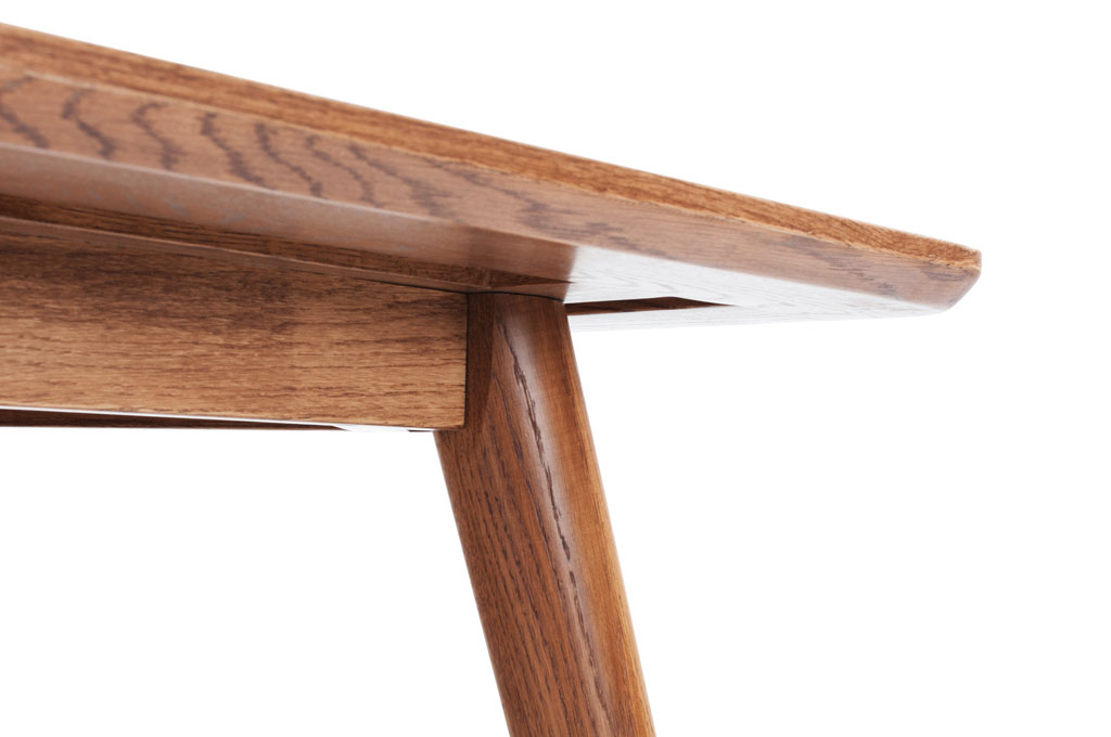 Logan, Retro Dining, Rectangle Table Large, Smoked Oak Legs Within Most Recent Logan Dining Tables (View 15 of 20)