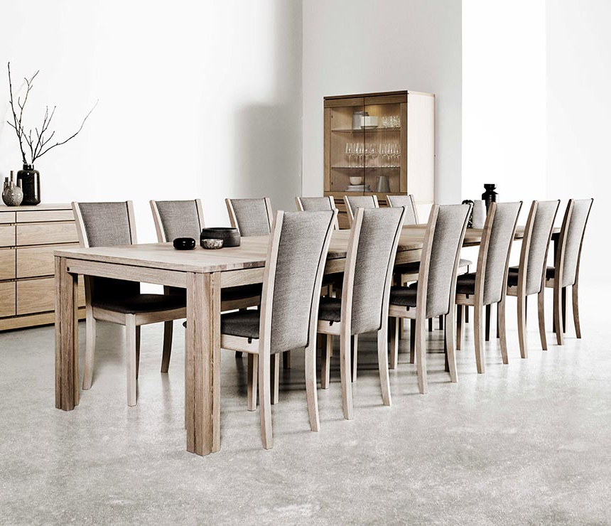Long Dining Tables Within 2018 Wharfside Long Dining Table – Ai24 – Danish Wood Dining Furniture (View 14 of 20)