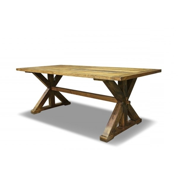 Luigi Dining Table 180cm Recycled Elm Pertaining To Latest 180cm Dining Tables (View 15 of 20)