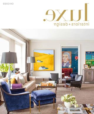 Luxe Magazine September 2015 Chicagosandow® – Issuu Throughout Most Recently Released Palazzo 7 Piece Dining Sets With Mindy Slipcovered Side Chairs (View 14 of 20)