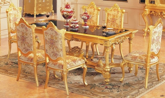 Luxury Dining Table Set Dining Table With 6 Chairs Wooden Dining Regarding Fashionable Dining Table Sets With 6 Chairs (View 11 of 20)