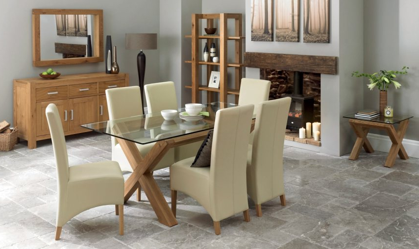 Lyon Dining Tables Regarding Trendy Bentley Designs Lyon – Brentham Furniture (Gallery 20 of 20)