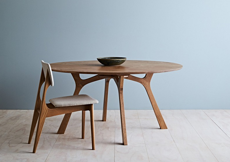 Lyssna Round Dining Table – Tide Design – Handmade Furniture Pertaining To Newest Round Dining Tables (View 8 of 20)