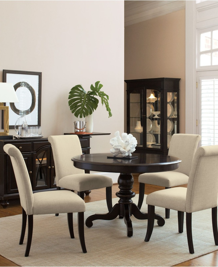 Macie 5 Piece Round Dining Sets With Regard To Trendy 14 Best Painted Dining Room Table Images On Pinterest (View 3 of 20)