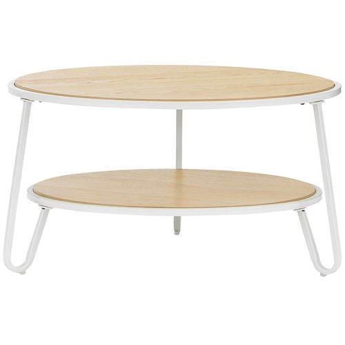 Macie Round Dining Tables Regarding Latest White Macy Round Coffee Table (View 7 of 20)