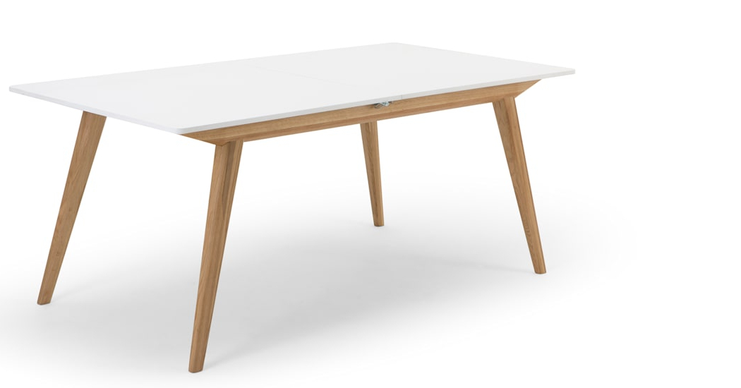 Made In Favorite White Square Extending Dining Tables (View 9 of 20)