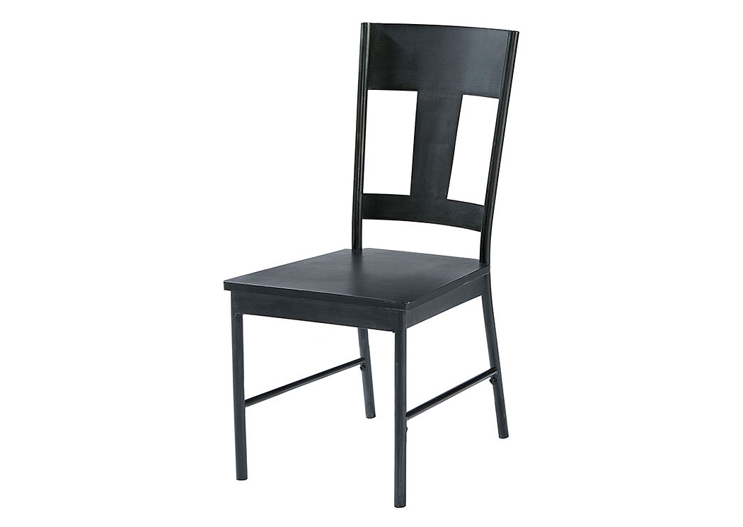 Magnolia Home Contour Milk Crate Side Chairs With Regard To Popular Long Furniture – Rainbow City, Al T Back Metal Side Chair, Carbon (View 16 of 20)