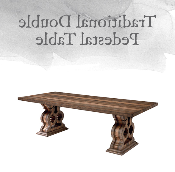 Magnolia Home Double Pedestal Dining Tables For Latest Magnolia Home Preview: Traditional Collection (View 8 of 20)