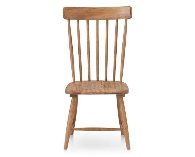 Magnolia Home Farmhouse Side Chair – Furniture Row For Most Recently Released Magnolia Home Kempton White Side Chairs Bjg (View 7 of 20)