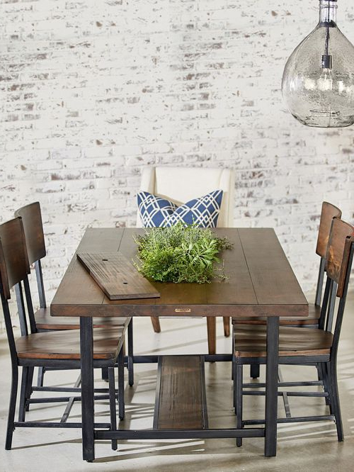 Magnolia Home Furniture And Design Throughout 2018 Magnolia Home Sawbuck Dining Tables (View 8 of 20)