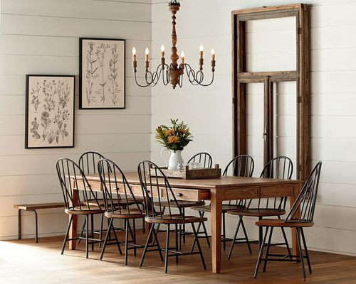 Magnolia Home Furniture And Design With Famous Magnolia Home White Keeping 96 Inch Dining Tables (View 3 of 20)