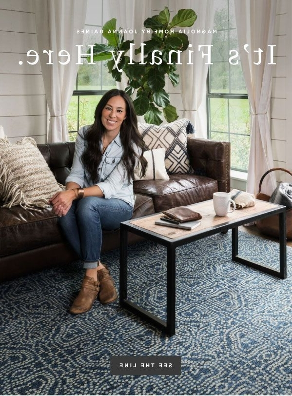Magnolia Home Hamilton Saddle Side Chairs Within Well Known It's Here! See The Joanna Gaines/ Magnolia Home Collection From (View 8 of 20)