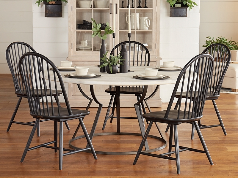 Magnolia Home Harper Chimney Side Chairs Pertaining To Current Belford Dining Collectionmagnolia Home (View 8 of 20)