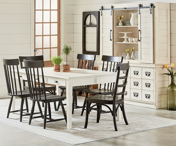 Magnolia Home Harper Patina Side Chairs Inside Famous A Farmhouse Fresh Dining Room With Joanna Gaines's Furniture (View 18 of 20)