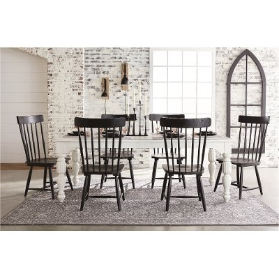 Magnolia Home Harper Patina Side Chairs Intended For Current Magnolia Home Furniture Brown 6 Piece Twin Bedroom Set – Framework (View 11 of 20)