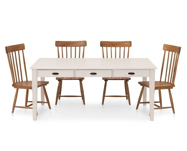 Magnolia Home Kempton Bench Side Chairs Regarding Preferred Magnolia Home Farmhouse Side Chair – Furniture Row (View 10 of 20)