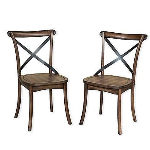 Magnolia Home Kempton Bench Side Chairs With Regard To Most Current Imagio Home Lindsay Dining Chairs (Set Of 2) (View 11 of 20)
