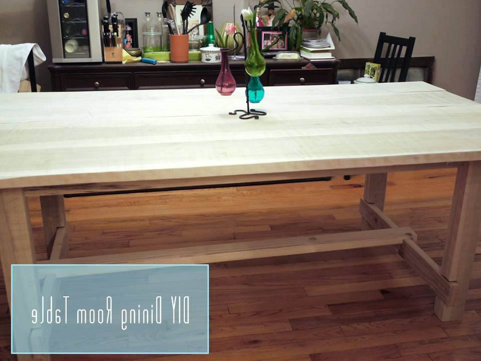 Magnolia Home Sawbuck Dining Tables Regarding Widely Used Home Made Dining Table Building A Dining Room Table Magnolia Home (View 12 of 20)
