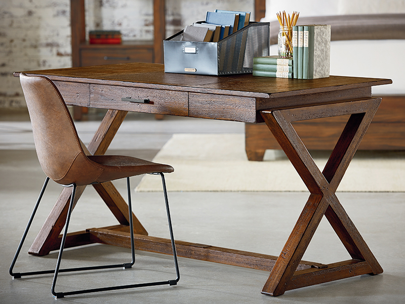 Magnolia Home Sawbuck Dining Tables With Regard To Preferred Sawbuck Deskmagnolia Home (View 12 of 20)