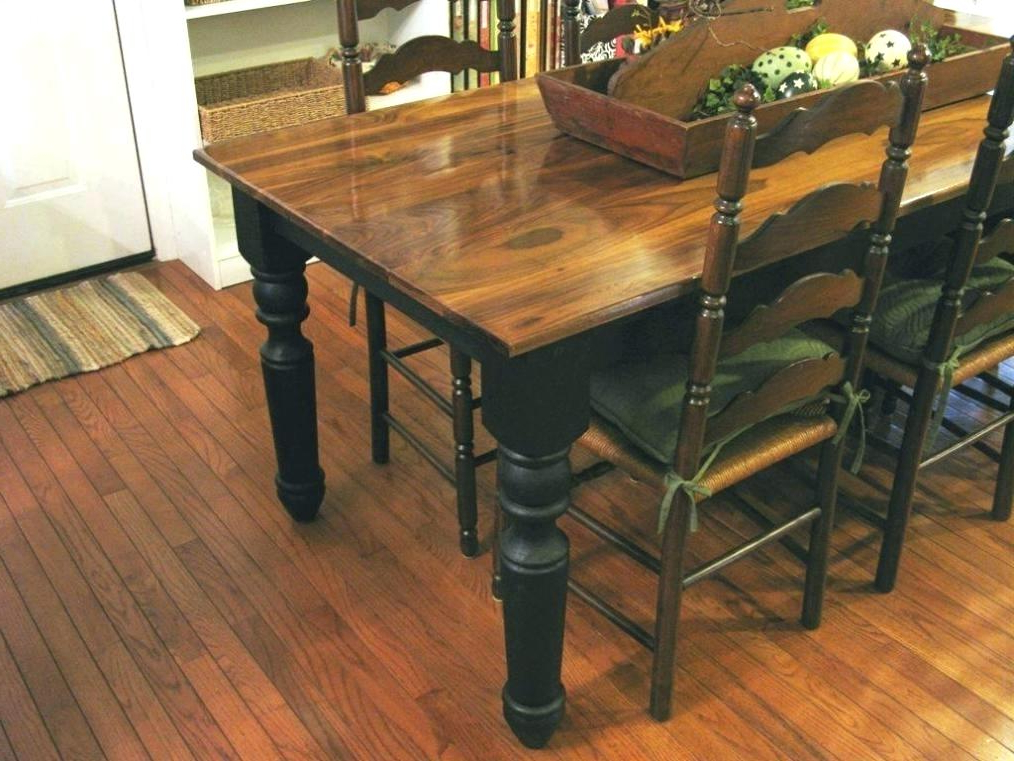 Magnolia Home Sawbuck Dining Tables Within Well Liked (View 6 of 20)