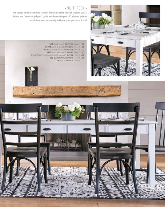 Magnolia Home Spindle Back Side Chairs In 2017 Living Spaces – Spring 2018 – Magnolia Home Spindle Back Side Chair (View 4 of 20)