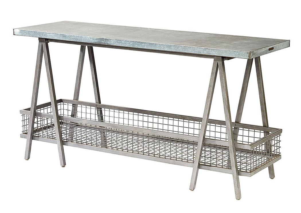 "Magnolia Home Taper Turned Bench Gathering Tables With Zinc Top Regarding Popular Long Furniture – Rainbow City, Al ""the Shannon"" Zinc Top Table (View 7 of 20)"