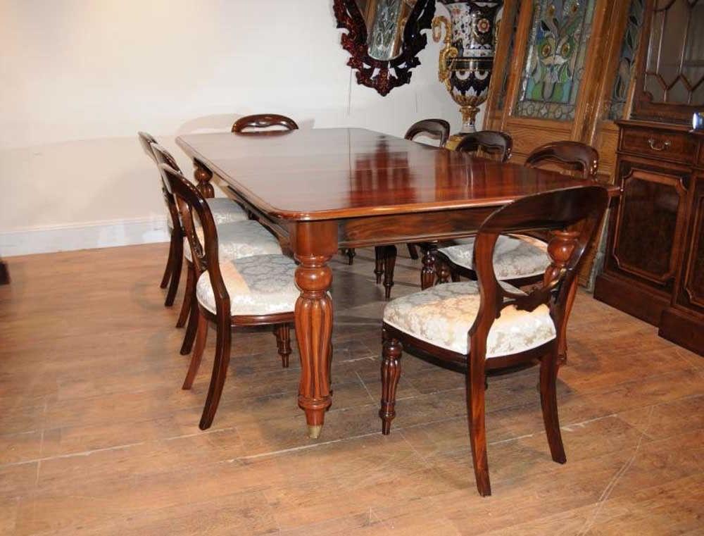 Mahogany Dining Table Sets – Castrophotos Inside Most Recent Mahogany Dining Table Sets (View 8 of 20)