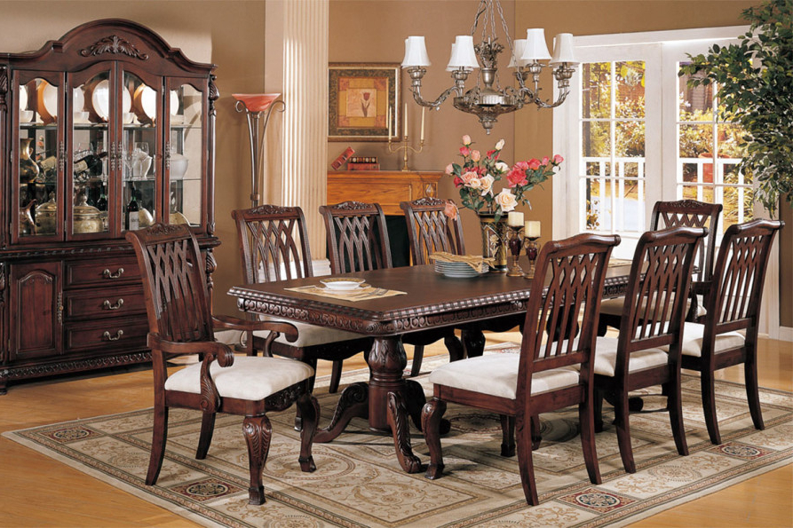 Mahogany Dining Table Sets Throughout 2018 Mahogany Dining Room Furniture; A Timeless Beauty With An Imperial (View 9 of 20)