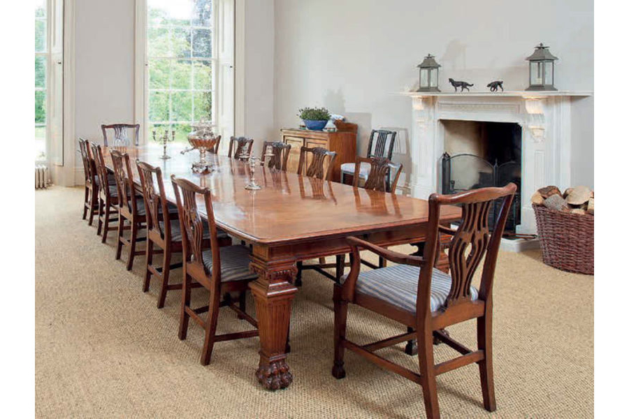 Mahogany Dining Tables And 4 Chairs Pertaining To Best And Newest Antique Table & Chairs Victorian Mahogany Dining Table & (View 4 of 20)