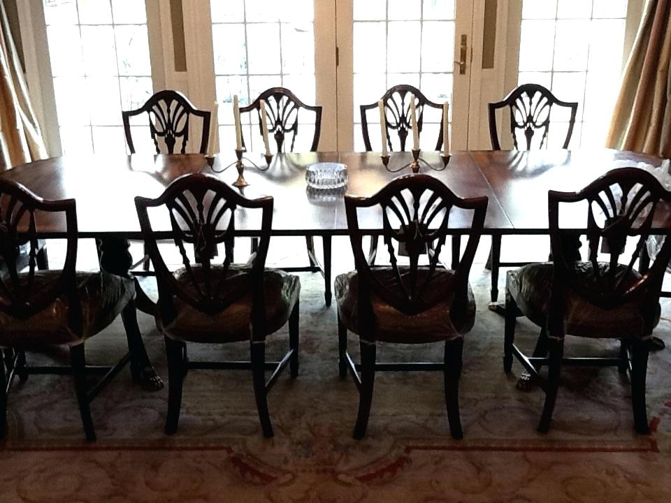 Mahogany Dining Tables Sets Inside Most Recent Mahogany Dining Room Set Mahogany Dining Room Sets Shield Back (View 7 of 20)