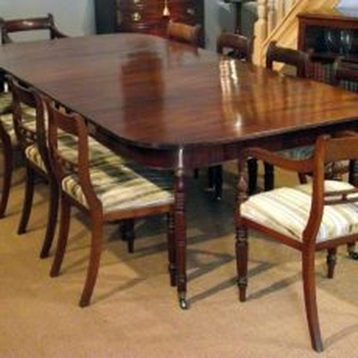 Mahogany Dining Tables Sets With Newest  (View 13 of 20)