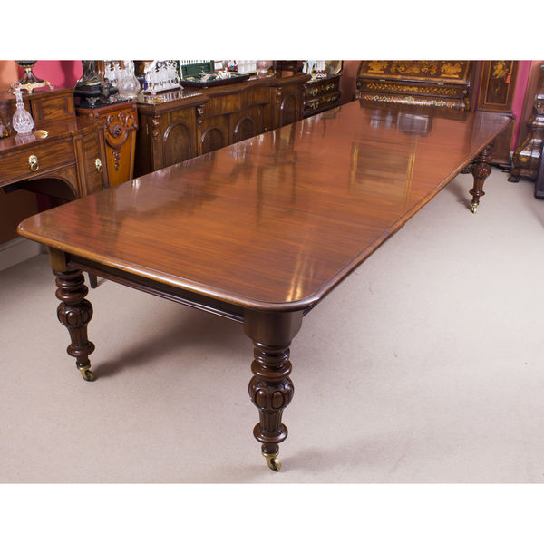Mahogany Extending Dining Tables And Chairs For Current Dining Tables Victorian (victoria) – The Uk's Premier Antiques (View 19 of 20)