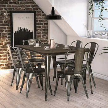 Mallard 6 Piece Extension Dining Sets Within Trendy Fusion 7 Piece Dining Set (View 11 of 20)