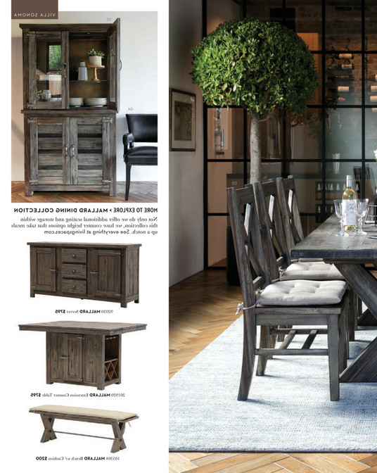 Mallard Extension Dining Tables Throughout Most Recent Living Spaces – Spring 2018 – Mallard Extension Dining Table (View 13 of 20)