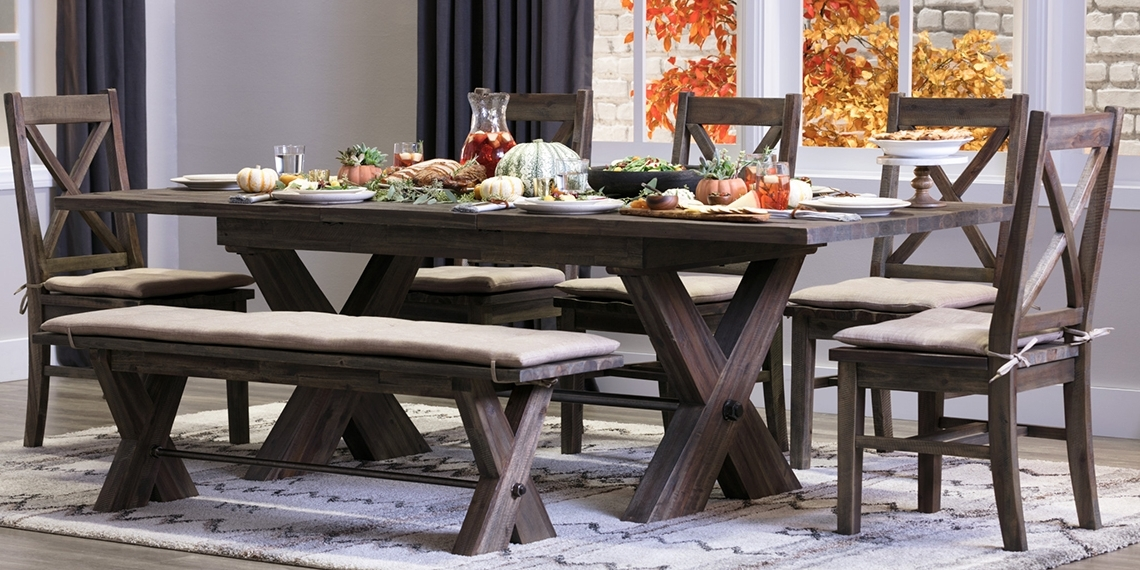 Mallard Side Chairs With Cushion In Widely Used Country/rustic Dining Room With Mallard Set (View 10 of 20)