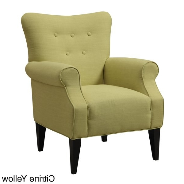 Mallard Side Chairs With Cushion Pertaining To Preferred Shop Emerald Lydia Accent Chair – Free Shipping Today – Overstock (View 9 of 20)