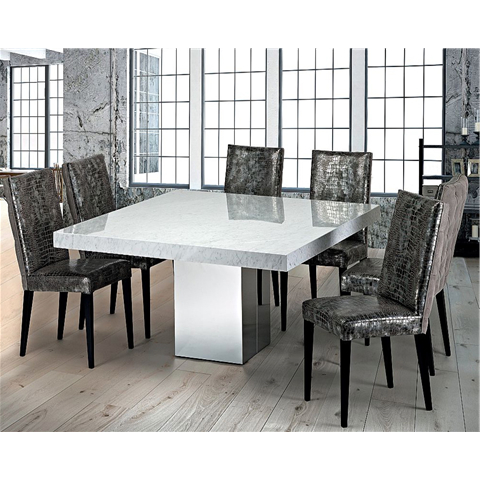 Marble Dining Chairs With Regard To Well Known Marble Dining Sets (View 8 of 20)