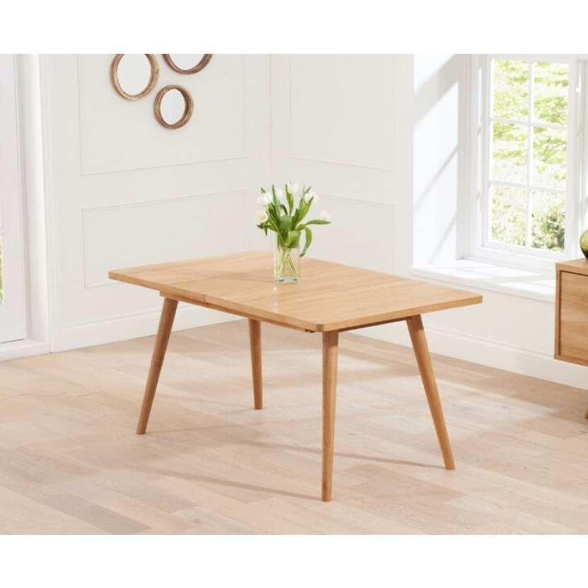 Mark Harris Tribeca Retro Oak Dining Table – 150cm Rectangular Extending Throughout Well Known Retro Extending Dining Tables (View 2 of 20)