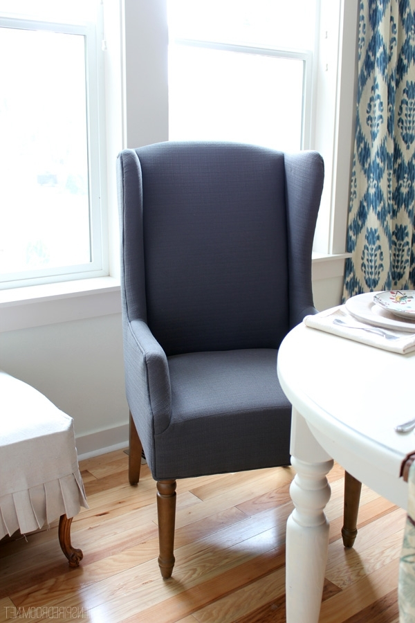 Market Host Chairs For Well Known Wingbacks In The Dining Room – The Inspired Room (View 8 of 20)