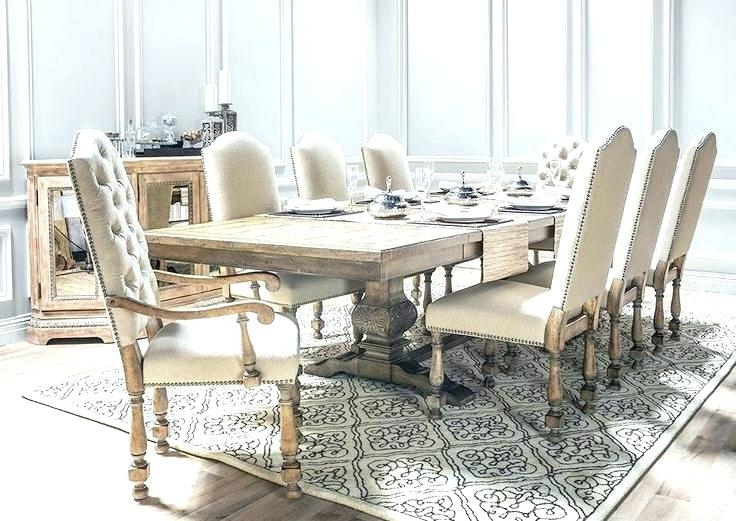 Marvelous Ideas Living Spaces Dining Room Tables Norwood 9 Piece Throughout Best And Newest Caira 9 Piece Extension Dining Sets With Diamond Back Chairs (View 14 of 20)