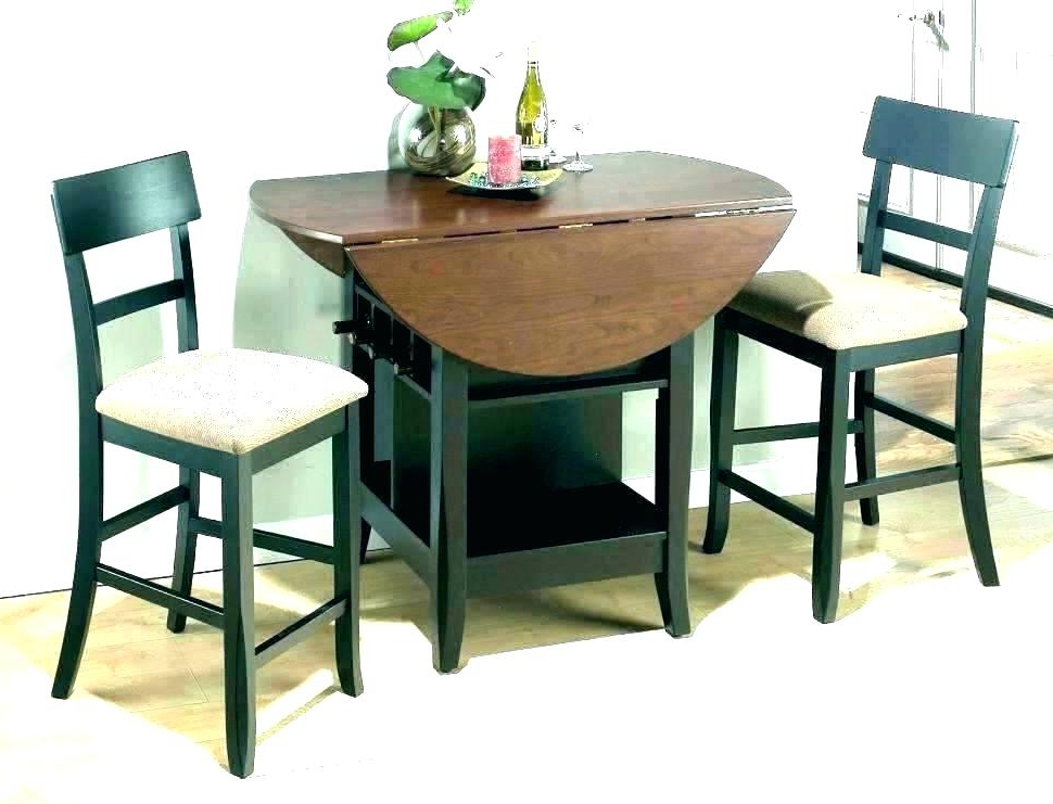 Marvelous Small Modern Kitchen Table Sets N For 2 Dining Two Person Inside Most Popular Two Person Dining Table Sets (View 9 of 20)