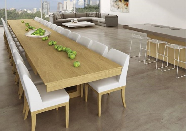 Mega Extendable Dining Table Throughout 2018 Extending Dining Table With 10 Seats (View 11 of 20)
