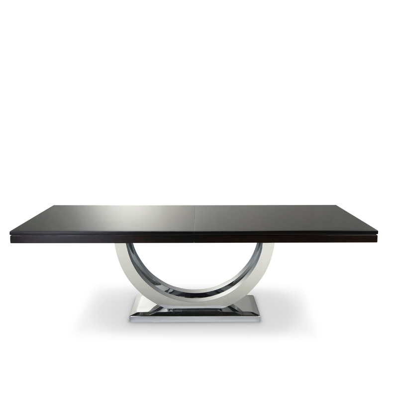 Metro Dining Table Chrome Base (View 10 of 20)