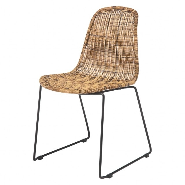 Mickey Synthetic Rattan Dining Chair (View 6 of 20)