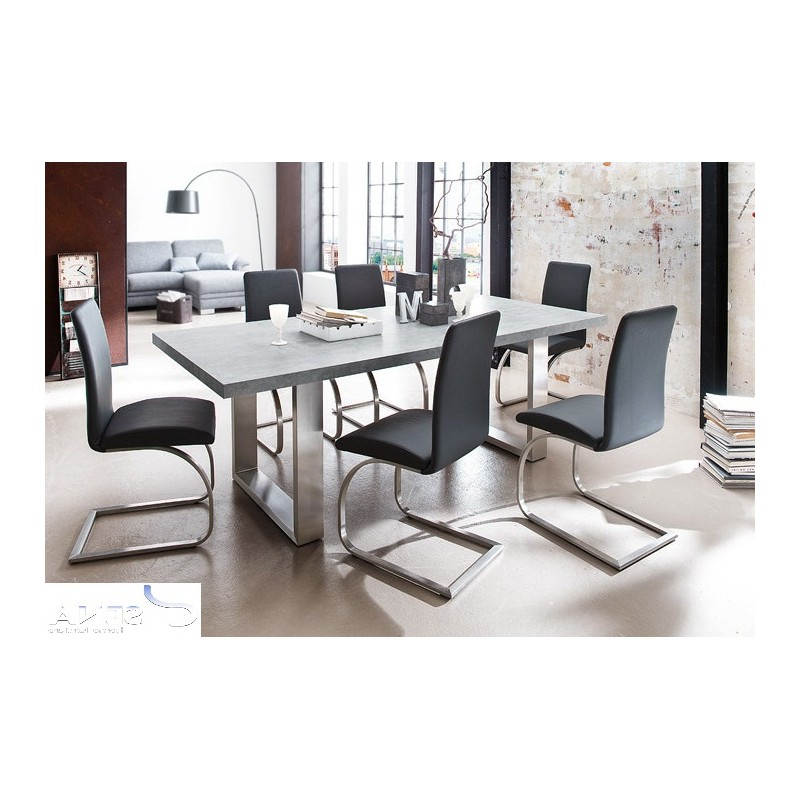 Mikado – Luxury Real Leather Dining Chair – Chairs (2043) – Sena Throughout Preferred Real Leather Dining Chairs (View 7 of 20)