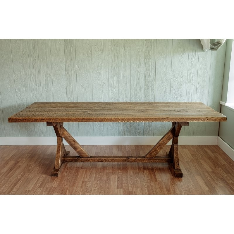 """Millwood Pines Mitzi Reclaimed Wood 30"""" Dining Table & Reviews (View 16 of 20)"""